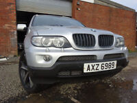 55 BMW X5 SPORT 3.0 DIESEL AUTOMATIC,MOT OCT 017,3 OWNERS FROM NEW,2 KEYS,PART HISTORY,STUNNING 4X4
