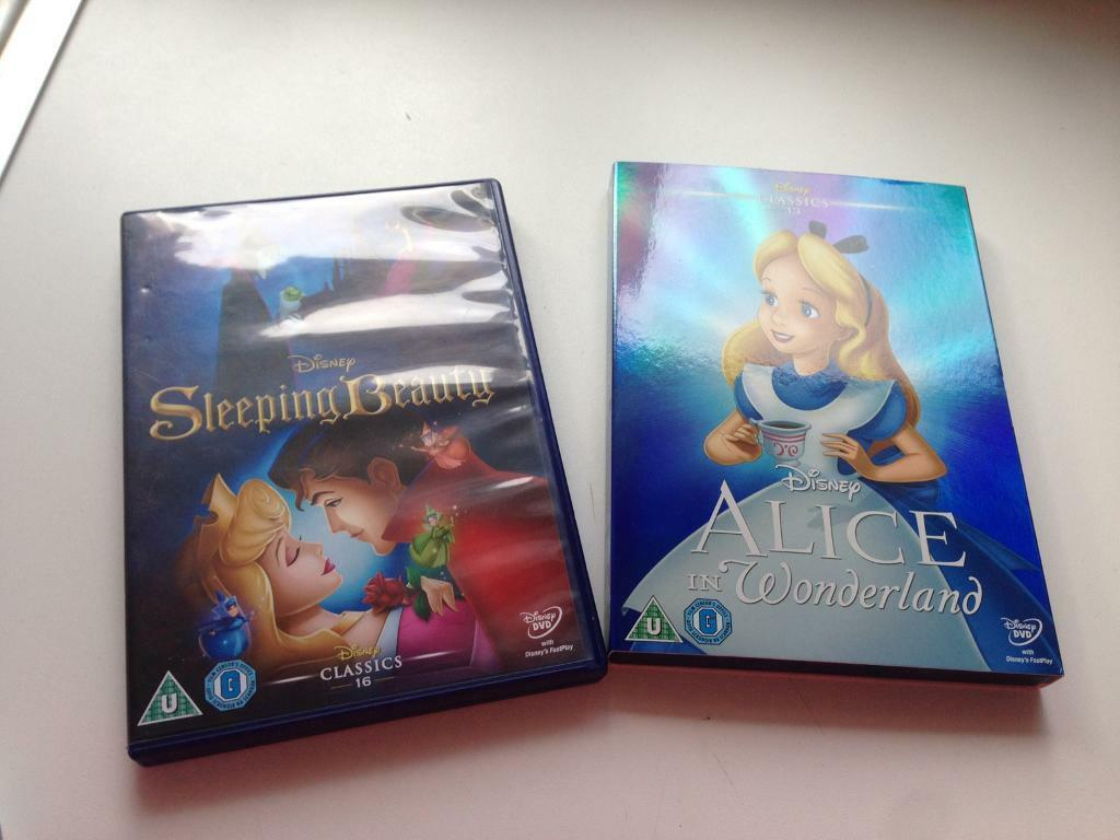 2x Disney DVDs