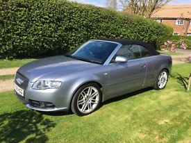 Audi A4 Cabriolet 2.0 TDI S Line FINAL EDITION, 2009, BOSE, NAV, Timing Belt replaced **REDUCED**
