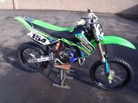 Kawasaki KX85BW. High spec race bike for sale