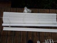 White 50mm slat venetian blind