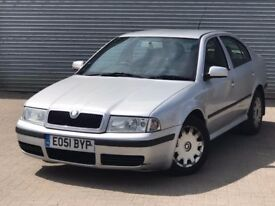 2001 SKODA OCTAVIA AMBIENTE TDI, AUTOMATIC, 1.9 DIESEL ENGINE WITH LONG MOT & SERVICE HISTORY