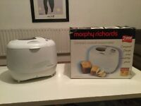 Morphy Richards breadmaker for sale