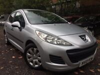 10 plate -Peugoet 207 - one year mot - 85K warranted milleage - perfect drive - clean example