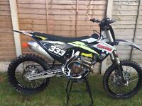 Husqvarna fc 250 2016 low hours Motocross bike not crf yzf ktm rmz