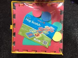 Hop scotch foam jigsaw