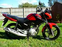 YAMAHA YBR 125 14 Reg 125cc