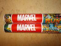 2 Rolls; Marvel; Childs Bedroom Wallpaper