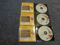 Chart Attack Karaoke CD G discs in as new condition - three discs
