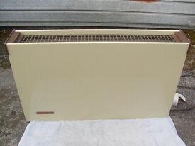 Convector heater.