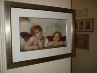 3 X DIFFERENT FRAMED WALL PRINTS/PICTURES