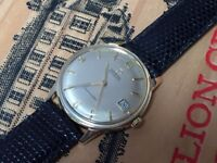 Stunning Vintage 1963 solid 18k 18ct gold Automatic Seamaster mens Swiss watch