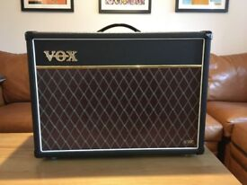 Vox AC15vr Combo with Quality cover, virtually unused, in new condition.