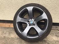 "X2 BMW wheels 19"" 5x120 10j"