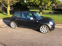 Mini One 1.4, metallic black, may take px car or bike