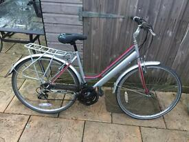 Ladies Town Bike. Nice sit up bike. Serviced, Free Lock, Lights, Delivery