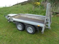 IFOR WILLIAMS PLANT TRAILER GX84