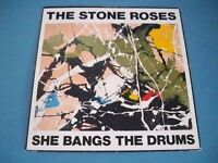 """The Stone Roses: She Bangs The Drums & Standing Here, 7"""" Vinyl Record"""