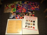 11 X Motown Label Album Records (inc box set) + 4 X Disco Vinyl LPs in VGC and Some Rare