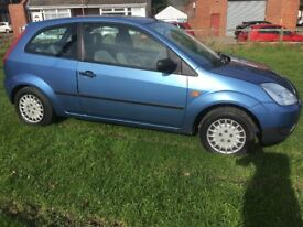 ford fiesta 1.2 full mot