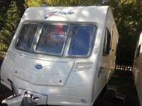 bailey pageant Bordeaux 4 berth fixed bed