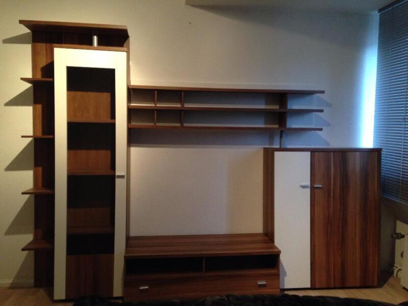 moderne wohnwand in niedersachsen braunschweig ebay kleinanzeigen. Black Bedroom Furniture Sets. Home Design Ideas