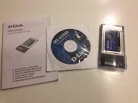 D-Link wireless PC card
