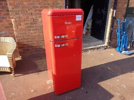 NEW GRADED/NEARLY NEW FREESTANDING / INTEGRATED / RETRO / AMERICAN STYLE FRIDGE FREEZERS FROM £90