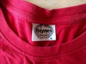 Haynes Manual Mini 1959-1969 Red T-Shirt