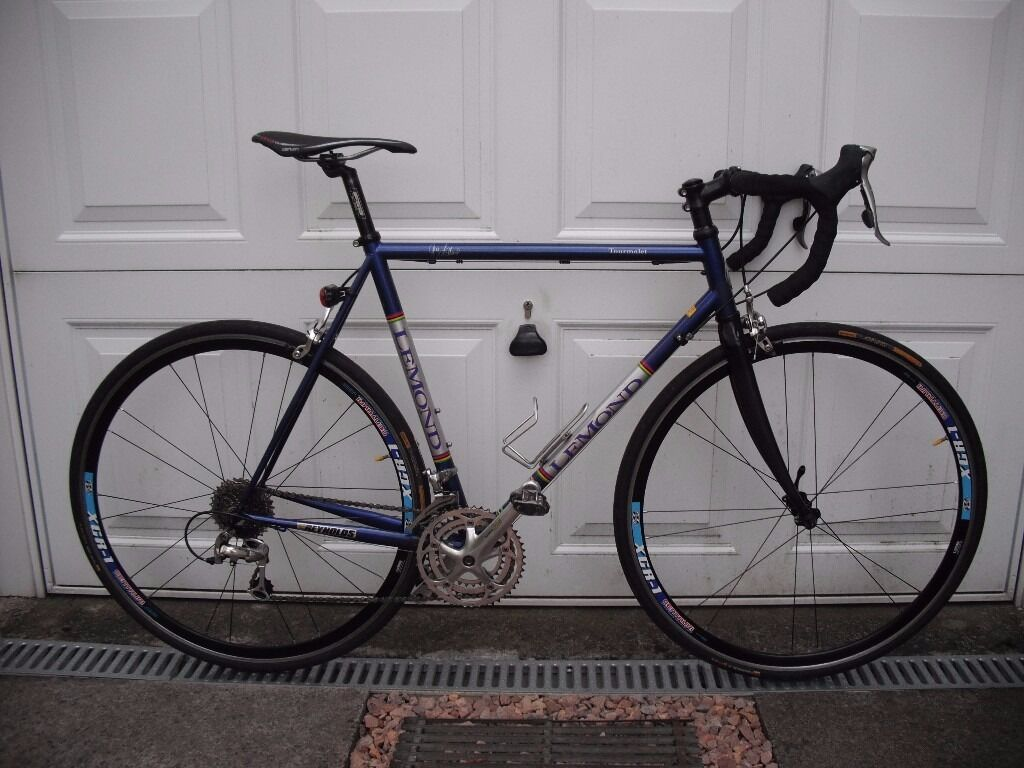 Road bike. Lemond Toumalet. Reynolds 853 steel frame. Carbon fork ...