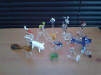 MINITURE GLASS ORNAMENTS