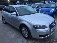 Audi A3 1.6 FSI Sportback 5dr HPI CLEAR, LONG MOT, FINANCE AVAILABLE, P/X WELCOME