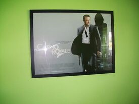 Framed Cinema Poster Daniel Craig