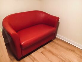 Leather Sofa (Faux)