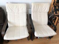 Ikea Armchairs (two)
