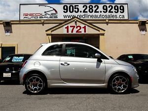 2012 Fiat 500 Sport, Leather, WE APPROVE ALL CREDIT