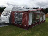 2009 Lunar FB 6 berth caravan with awning & extras