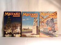3 1950'S MECCANO MAGS .