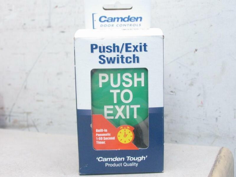 CAMDEN CM-5085GPTE Green Pneumatic Mushroom Button Switch w/ Timer