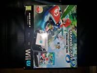 WII U 32GB BLACK EDITION W/GAMES