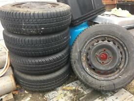 Tyres 165/70 R13 x5