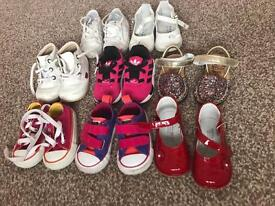 Girls size 3 bundle of shoes