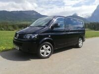 Volkswagen Transporter - 5 seater Converted Camper with Rock and Roll Bed