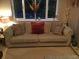 Barker and stonehouse sofa and arm chair