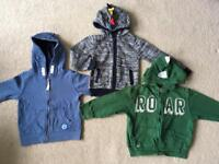 Boys zip hoodie bundle age 2-3 years