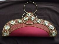 Embroidered Indian Ethnic Design Handbag - Brand New!