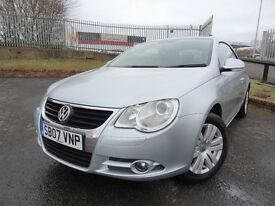 2007 VW EOS - ONLY 89000mls, MOT November 2017