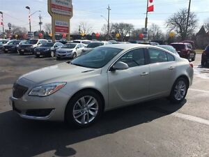 2015 BUICK REGAL TURBO - LEATHER HEATED SEATS, REAR VIEW CAMERA,