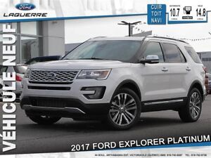 2017 Ford Explorer Platinum *6 Passagers* LF
