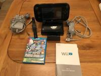 Nintendo Wii U 32GB Console with Mario Game